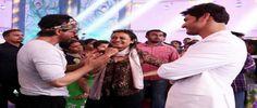 Shah Rukh Khan visits Mahesh Babu on Brahmotsavam sets For more info visit: a360news.com