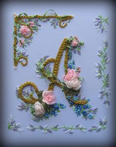 Wonderful Ribbon Embroidery Flowers by Hand Ideas. Enchanting Ribbon Embroidery Flowers by Hand Ideas. Embroidery Designs, Ribbon Embroidery Tutorial, Silk Ribbon Embroidery, Crewel Embroidery, Embroidery Patterns, Embroidery Thread, Embroidery Monogram, Embroidery Services, Bordado Floral