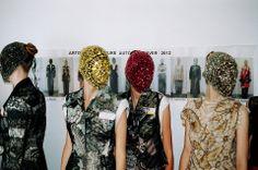 ANDREA JANKE Finest Accessories: MAISON MARTIN MARGIELA Fall 2012 Couture #MaisonMartinMargiela #HauteCouture #PFW
