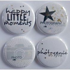 4 badges photogenic