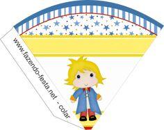 kit festa pequeno príncipe cone
