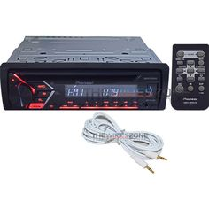 Pioneer DEH-S1000UB CD USB Remote Android Compatible Car Radio + Free AUX Cable #Pioneer