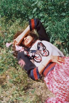 (open rp) Beth// I lay down on the grass and think about my day when suddenly I hear footsteps. I look up at the person and they say..