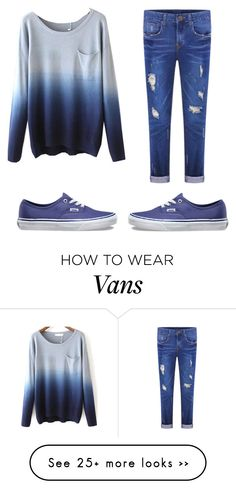 """""""A normal day"""" by elena-gasdi on Polyvore featuring Vans"""