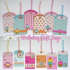 Card: Doodlebug Sugar Shoppe Gift Tags by Mendi Yoshikawa