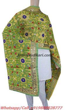 Chanderi Handicraft Dupatta Code-