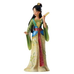 Enesco Disney Showcase Mulan Couture de Force Figurine, 8.12-Inch