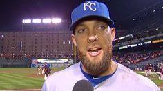 ALCS Gm1: Royals reflect on victory in ALCS Game 1