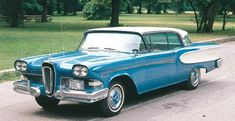 1958 Edsel Corsair,  My best girl friend's father had the exactly same car...And we rode in it...