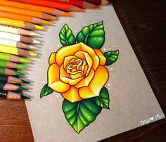facebook | instagram | Commission Info~ Finished this last week, thanks Millie! Flowers are my favorite thing to draw~ __________________________________________ Prismacolor pencils and...