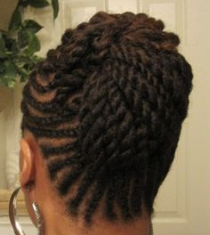 Flat Twist Updo - Click the image for more of Eb Dru's natural hair looks. Flat Twist Hairstyles, Flat Twist Updo, Braided Hairstyles, Black Hairstyles, Hairdos, Wedding Hairstyles, Natural Hair Twists, Natural Hair Updo, Natural Hair Styles