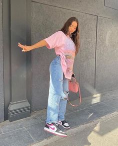 Adrette Outfits, Baddie Outfits Casual, Indie Outfits, Teen Fashion Outfits, Retro Outfits, Cute Casual Outfits, Stylish Outfits, Girly Outfits, Simple Outfits
