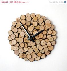 Hey, I found this really awesome Etsy listing at https://www.etsy.com/listing/109864909/sale-wood-wall-clock-fathers-day-gift