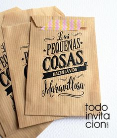 bolsas-de-kraft-para-regalos-detalles boda evento Diy And Crafts, Paper Crafts, Food Packaging Design, Coffee Packaging, Ideas Para Fiestas, Thoughtful Gifts, Gift Bags, Diy Gifts, Gift Wrapping
