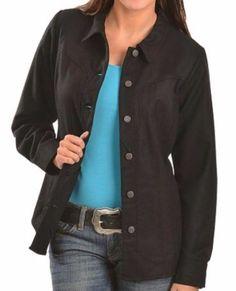 NWT PENDLETON WOOL RANCH SHIRT - BLACK - SIZE SMALL #Pendleton #ButtonDownShirtJacket