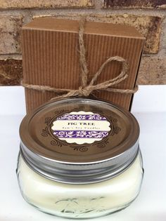 Wedding Favor Soy Mason Jar Candle Shower 100 Percent 8oz Wide Mouth Fall Party S