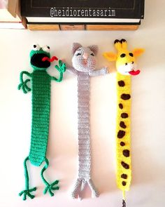 Bücher lesen war noch nie so süß never mein zu zu Umeda Knitting TechniquesCrochet For BeginnersCrochet BlanketCrochet Baby Crochet Cow, Giraffe Crochet, Crochet Books, Crochet Gifts, Crochet Animals, Free Crochet, Crochet Bookmark Pattern, Crochet Bookmarks, Crochet Motif
