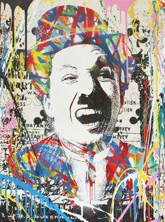 Chaplin by Mr. Brainwash