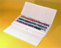 Winsor & Newton Cotman Watercolour 45 Half Pan Studio Set