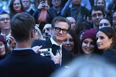Colin Firth Photos Photos - Colin Firth attends the 'Nocturnal Animals' Headline Gala screening during the 60th BFI London Film Festival at Odeon Leicester Square on October 14, 2016 in London, England. - 'Nocturnal Animals' - Headline Gala - 60th BFI London Film Festival