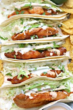 Finally, I've created a Crispy Fish Tacos recipe that rivals those found in the restaurants of San Diego. Crispy, fresh and majorly tasty.
