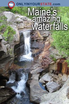 Travel Maine Attractions USA New England Natural Wonders Waterfalls Things To Do Buc Travel Maine Attractions USA New England Natural Wonders Waterfalls Things To Do nbsp hellip life photography road trips Maine Road Trip, Us Road Trip, East Coast Travel, East Coast Road Trip, Travel Usa, Travel Maine, Travel News, Travel Hacks, Time Travel