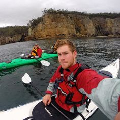 Kayaking selfies - always great (just ask our guides). Thanks for sending in this shot for our #kayakingfaces competition Jez. The photos with the most likes and shares will be the winners - so vote for your favourite photos by liking and send in your #kayakingfaces for a chance to win. To enter - on instagram just tag #kayakingfaces or on Facebook post your photo to our page with the tag #kayakingfaces. Some great Tasmanian kayaking prizes to be won. Entries close 4th December.