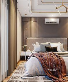 Modern Bedroom Design, Bed Design, Interior Architecture, Interior Design, Luxury Living, All Modern, Living Room Designs, 3ds Max, Autocad