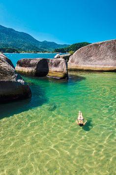 Município de Paraty, na chamada Costa Verde, região sul do estado do Rio de Janeiro, Brasil.