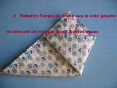 Tuto pochette origami - le blog mona66 Patches, Blog, Voici, Alphabet, Tela, Scrappy Quilts, Hampers, Fabrics, Accessories