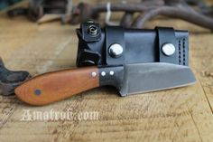 Handmade Everyday Carry (EDC) Fixed Blade by Aaron Roberts of Penny Face Knives