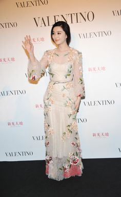 Fan Bingbing in SS 2012 Prèt-a-porter