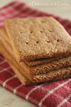 Graham-Style Crackers (Low-FODMAP & Gluten-Free)   Delicious as it Looks