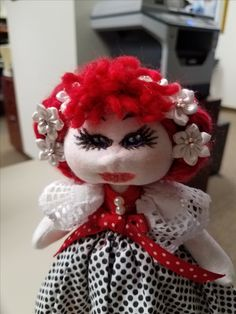 Made this cute little doll for my granddaughter.