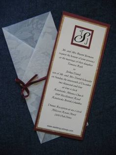 Wedding Invitations JTS