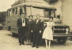 QUINTES-Mirador del Cantábrico: Autos Pidal, antigua línea de autobús Quintes Gijón