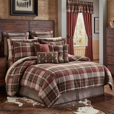 Shop for Woolrich Tasha Cotton Flannel Duvet Cover Set. Get free delivery On EVERYTHING* Overstock - Your Online Fashion Bedding Store! Get in rewards with Club O! Luxury Bedding Collections, Luxury Bedding Sets, Modern Bedding, Flannel Duvet Cover, Plaid Bedding, Queen Comforter Sets, King Comforter, Quilt Sets, Bed Sizes