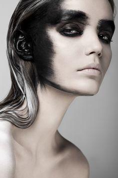 Weronika Kosinska with the stunning Paulina Szczepkowska. Makeup and hair styling courtesy of Izabela Szelągowska. Fears Photographer: Weronika K
