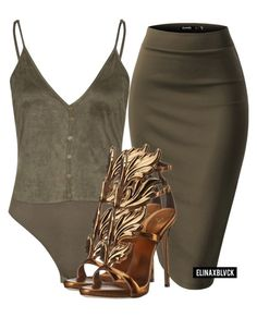 """Untitled #1346"" by elinaxblack ❤ liked on Polyvore featuring Giuseppe Zanotti"