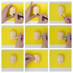 Elsa tutorial by Bambola di zucchero - CakesDecor