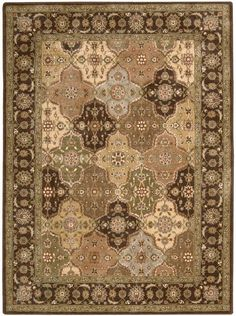 """Nourison Closeout! Area Rug, Somerset Collection ST63 Panel Multi 2' x 5'9"""" Runner Rug"""