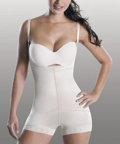 746640e471 Mandy Shapewear Nude Triconet Shaper Boyshort Bodysuit - Women   Plus