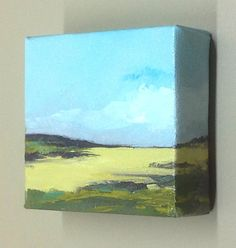 NEW PATH oil painting landscape painting original by PaintingWell