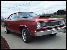 1971 Plymouth Duster  340 CI, Automatic  #MecumINDY