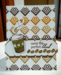 Perfect Blend,  CASed card,  Colleen Pepper