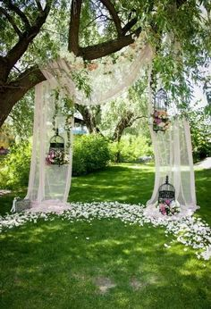 Wedding Ceremony Ideas, Fall Wedding, Wedding Venues, Dream Wedding, Wedding Backdrops, Outdoor Ceremony, Wedding Arches, Outdoor Decor, Wedding Ceremonies