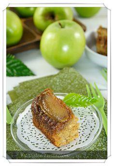brownie de manzana caramelizada  ñ