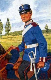 Hannover. 1866 Kavallerie und Infanterie