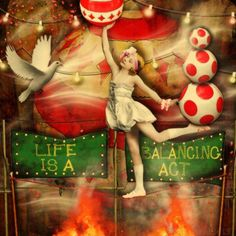 'Balancing Act' © Beth Todd 2015 - All rights Reserved You know that's true! :P  Created with Marta Van Eck's 'Halloween @ Mischief Circus' Collection available here: http://www.mischiefcircus.com/shop/product.php?productid=22250&cat=0&page=1