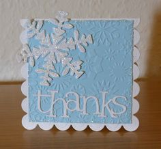 This week at the Cuttlebug Spot  it's time to say:   'Thank You!'  The challenge is to make a 'Thank You' card to send to your Thanksgiving ...